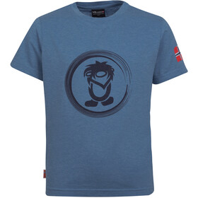 TROLLKIDS Trollfjord T-Shirt Kids, french blue